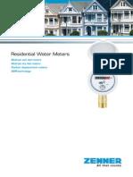 ZENNER MNK Domestic Water-meters