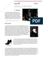 Yohji Yamamoto - Influential Designers