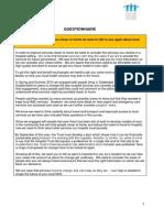 Hospital Services Engagement Questionnaire FINAL