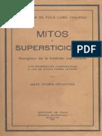 Mitos Orales Julio Vicente