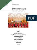 Pengkondisian Ruang Convention Hall