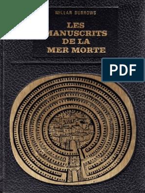 datation radiométrique des manuscrits de la mer morte