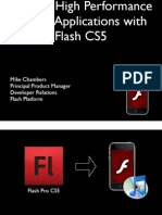 Building High Performance iPhone Applications With Flash