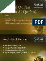 3 Mukjizat Al Qur'An