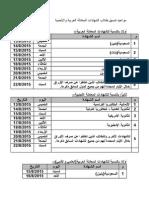 مواعيد تنسيق طلاب الشهادات المعادلة العربية والأجنبية