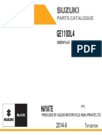 Ge110 Dl4 p71 Parts Catalogue