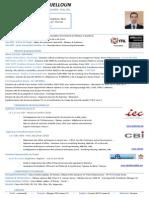 C.v Mohammed BENJELLOUN - Ingénieur Réseaux & Systèmes - Certifié VCA-ITIL - FR v8.9