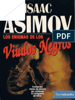 Los Enigmas de Los Viudos Negros - Isaac Asimov