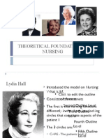 Theoretical Foundation of Nursing PDF