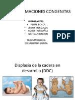 Malformaciones congénitas en traumatología