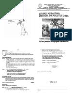 Liturgi Agustus 2015-Minggu II