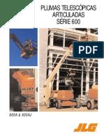 Pluma Articulada Ficha Tecnica Diesel 600A