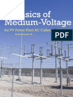 Basics of Medium-Voltage Wiring for PV Power Plant AC Collection Systems