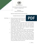 Undang-Undang Republik Indonesia Nomor 22 Tahun 2001