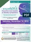 2nd Women's Preventative Care Update