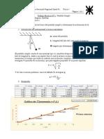 Física - Trabajo Práctico N° 1 Péndulo simple