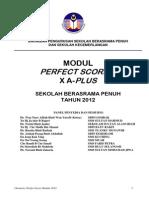Chemistry Perfect Score & x a Plus Module 2012 Edit