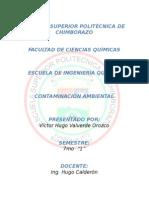 Contaminacion Ambiental en el proceso de agua embotelada