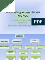 Dominios-Diagnosticos - NANDA –NIC-NOC en Paciente Qx