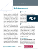 7 Things You Should Know About Institutional Self-Assessment (274078279)