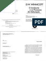 O Ambiente e Os Processos de Maturacao - Winnicott