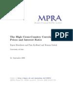 MPRA Paper 10963