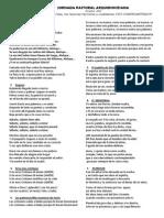 Cancionero Jornada Pastoral 2012