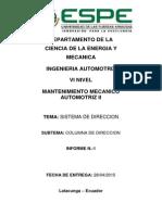 Informe1 Columna de Direccion