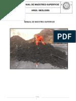 Manual de Muestreo Superficie Morococha 2014