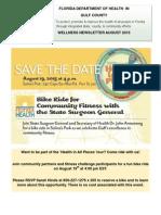 Gulf County Health Department August 2015 Wellness Newsletter