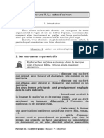 Lettre d Opinion Eleves