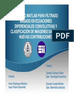 Presentacion Entorno Matlab Para Filtrado