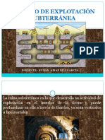 MINERIA SUBTERRÁNEA 1