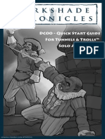 Darkshade Chronicles Quick Start Guide for Tunnels & Trolls Solo Adventures (7443014)