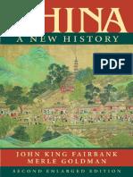 CHINA-A New History- Fairbank Goldman