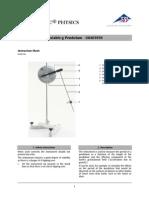 Pendulum, Variable g
