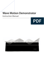 Wave Demonstator, Transverse