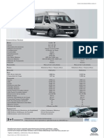 Ficha Tecnica Vw Crafter 2014