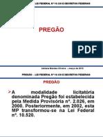 Pregão Ministerio Do Planejamento