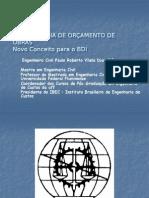 Metodologia de Orçamento de Obras - Novo Conceito Para o BDI