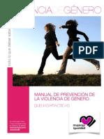 Violencia de Género - Manual de Prevención de La Violencia de Género