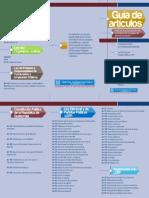 Trifoliar Guía Artículos Inscripción Candidatos, 2015 - Tribunal Supremo Electoral de Guatemala