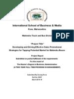 summer internship report Mahindra And Mahindra.docx