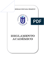 REGLAMENTO UNIVERSIDAD PRIVADA TELESUP