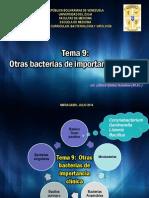 Tema 9 Otras Bacterias de Importancia Clínica
