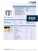 Ggb - Dp11 (Non-lubricated) - Datasheet - Pt (1)
