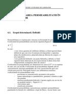 Geotehnica. Manual Pentru Lucrarile de Laborator. Determinarea Permeabilitatii in Laborator