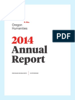 2014 Oregon Humanities Annual Report