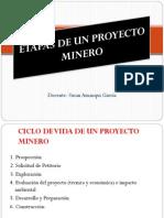 Etapas de Un Proyecto Minero