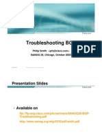 NANOG29 BGP Troubleshooting
